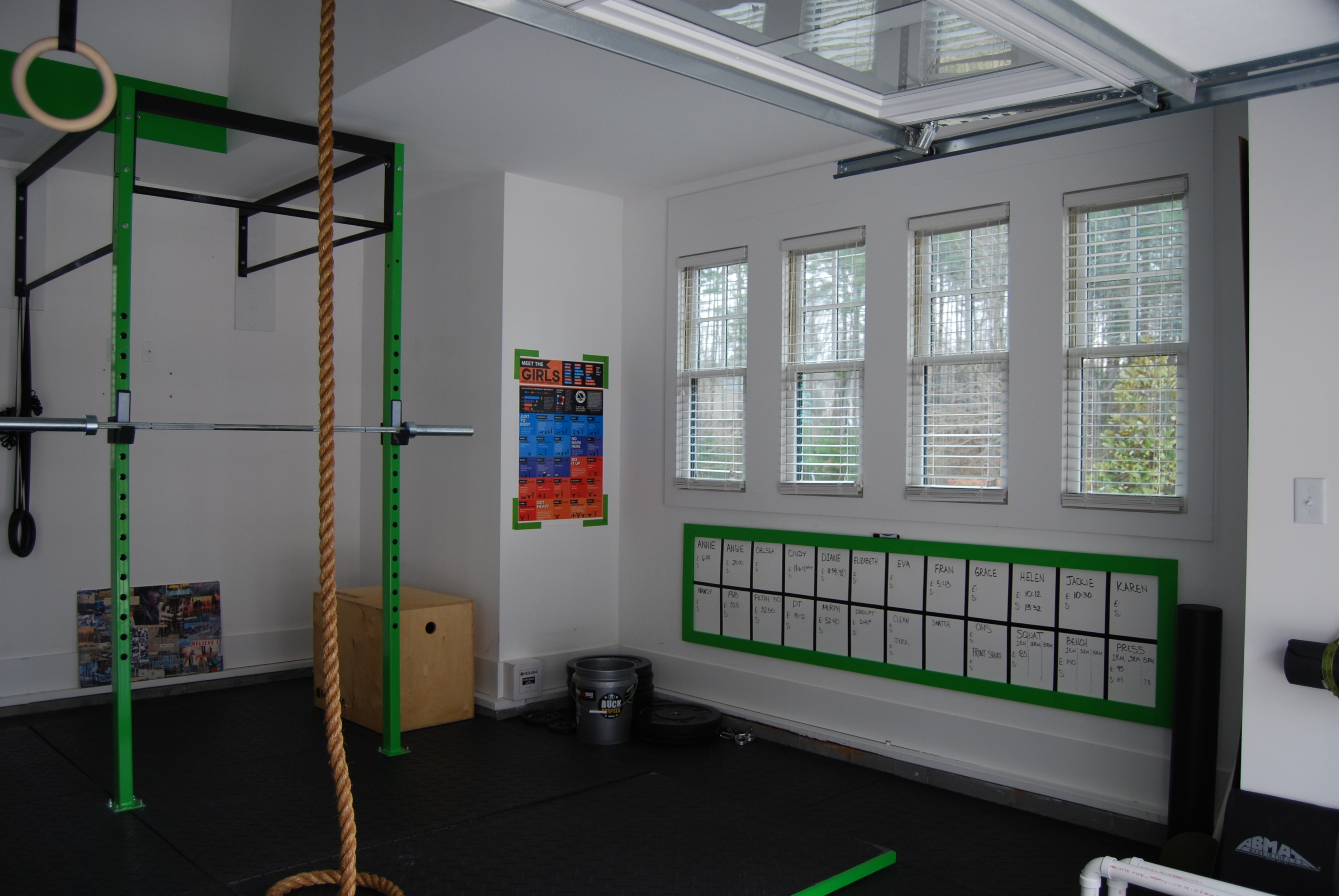 Images about garage gym on pinterest