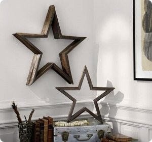 Pottery Barn Milled-Log-Stars