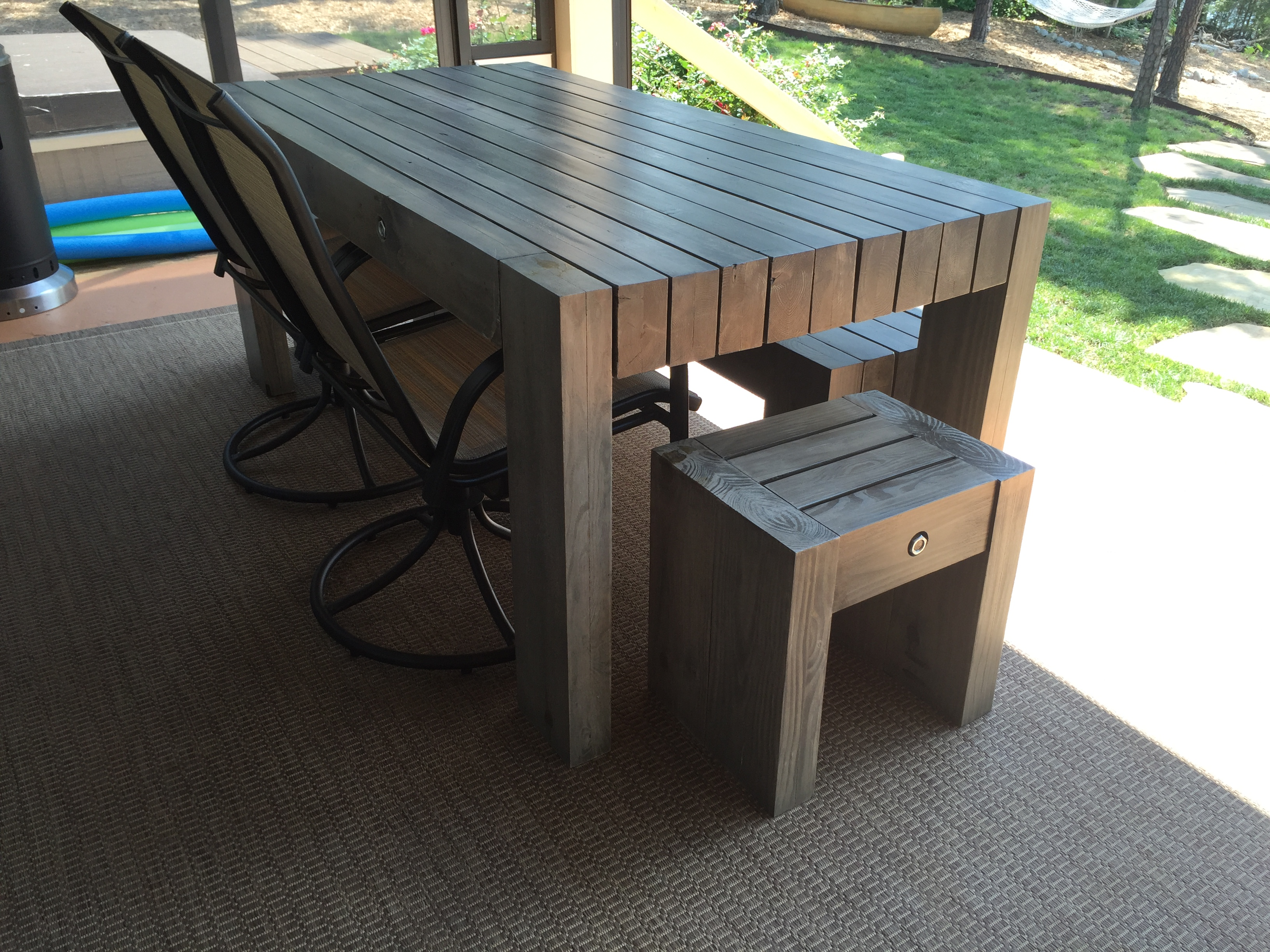 diy restoration hardware bardenas table - Restoration Hardware Outdoor Furniture